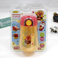 Anpanman One-Touch Straw Mug, 300ml