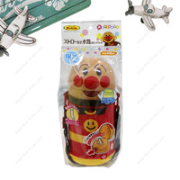 Anpanman Canteen w/Straw (Cold Insulation, Die-Cut)