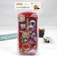 Anpanman Slide 3-Piece Set, Pink
