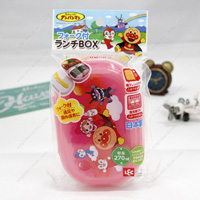 Anpanman Lunch BOX w/Fork, Pink