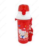 Hello Kitty Direct-Drinking Plastic One-Touch Bottle