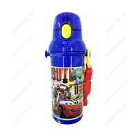 CARS Direct-Drinking Plastic One-Touch Bottle