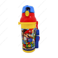 Super Mario Direct-Drinking Plastic One-Touch Bottle