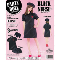 PARTYDOLL Black Nurse