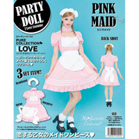 PARTYDOLL Pink Maid