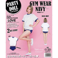 PARTYDOLL Gym Clothes, Navy