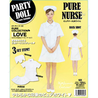 PARTYDOLL Pure Nurse, White