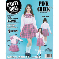 PARTYDOLL Pink Check