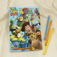 Toy Story Coloring Book, B5