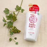 Lion Hadakara Body Soap, Floral Bouquet Fragrance, Main Item