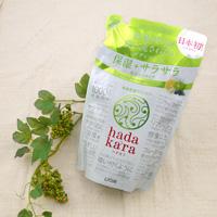 Lion Hadakara Body Soap, Green Fruity Fragrance, Refill