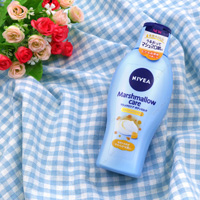 Kao Nivea Marshmallow Care Body Milk, Healing Citrus Fragrance