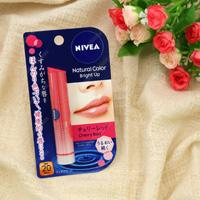 Kao Nivea Natural Color Lip Bright Up, Cherry Red SPF20/PA++