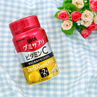 UHA Mikakuto Gummy Supplement, Vitamin C, Lemon Flavor, 30 Days' Worth