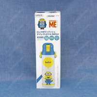 Ultra-Light Direct Stainless Steel Bottle w/One-Push Lock, Minions