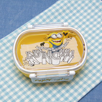 Dishwasher OK Tight Lunch Box, Oval Shape, Minions 17