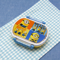 Dishwasher OK Tight Lunch Box, Oval Shape, Minions 3
