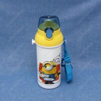 식기 세척기 대응 직접 마시는 플라스틱 원터치 보틀 미니언즈17