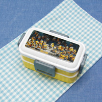 2-Tier Fuwatto Lunch Box, Minions 3