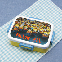 4-Lock Lunch Box, Minions 3
