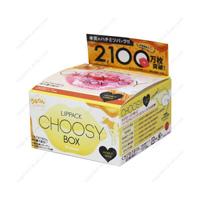CHOOSY Lip Pack BOX, Honey & Milk