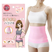 Onna no Yokubo Thin, Warm Stomach Wrap (Pink)