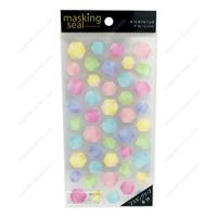 Masking Stickers, 78257 Hexagons