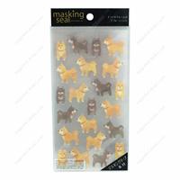 Masking Stickers, 77650 Shiba Inu