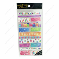 Masking Stickers, 77622 Tape, Party