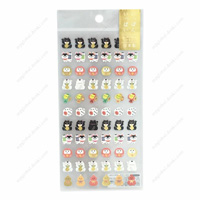 Nippon Ippai Small Stickers, 78234 Maneki Neko