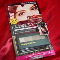 Heavy Rotation Powder Eyebrow & 3D Nose, 02 Natural Brown