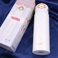 Thermos Vacuum Insulation Portable Mug, 0.5L Cream White