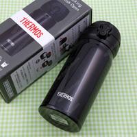 THERMOS 진공 단열 휴대용 머그 0.35L 제트 블랙