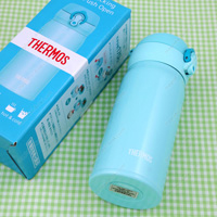 Thermos Vacuum Insulation Portable Mug, 0.35L Pastel Mint