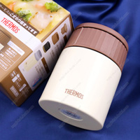 Thermos Vacuum Insulation Soup Flask, 0.4L Milk