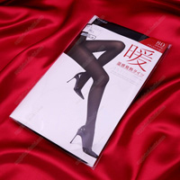 ATSUGI [Warm] Warm-Feeling Heat-Generating Tights, 80 Denier, M-L Black