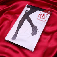 ATSUGI [Warm] Warm-Feeling Heat-Generating Tights, 110 Denier, L-LL Black