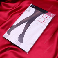 ATSUGI [Pressure] Shaping Heat-Generating Tights, 40 Denier, M-L Black