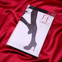 ATSUGI [Pressure] Shaping Heat-Generating Tights, 120 Denier, M-L Black