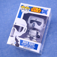 POP! Star Wars Series, Star Wars-Biker Scout Mini Figure