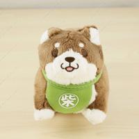 Chuken Mochi Shiba, Mini Stuffed Toy Ball Chain, Anko
