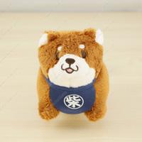 Chuken Mochi Shiba, Mini Stuffed Toy Ball Chain, Okaka