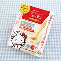 Tamanokoshi Soymilk Yogurt Sheet Mask, Red Aging Care