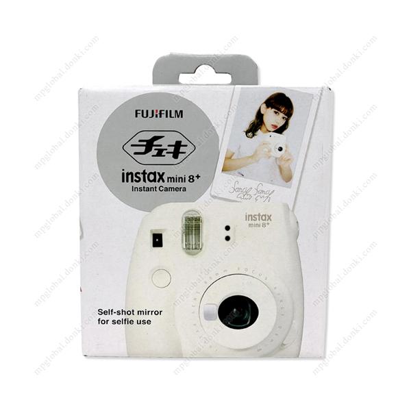 FUJIFILM Instant Camera, Cheki instax mini 8+, Vanilla | Don