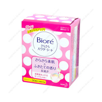 Biore SaraSara Powder Sheet, Soap Fragrance, Refill