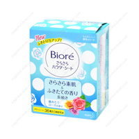 Biore SaraSara Powder Sheet, Rose Fragrance, Refill