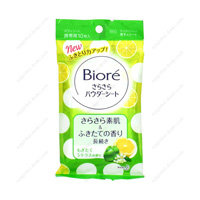 Biore SaraSara Powder Sheet, Citrus Fragrance, Portable Type