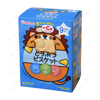 Wakodo Akachan no Oyatsu +Ca, Calcium, Animal Biscuit