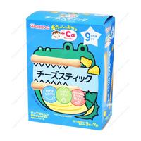 Wakodo Akachan no Oyatsu +Ca, Calcium, Cheese Stick