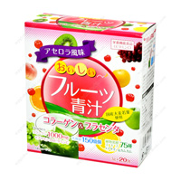Delicious Fruit Aojiru, Collagen & Placenta